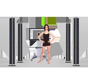 RDS BodyScan 三维极速全身人体扫描系统